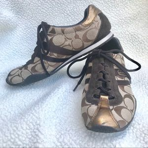Coach Kate pre-loved sneakers size 6.5
